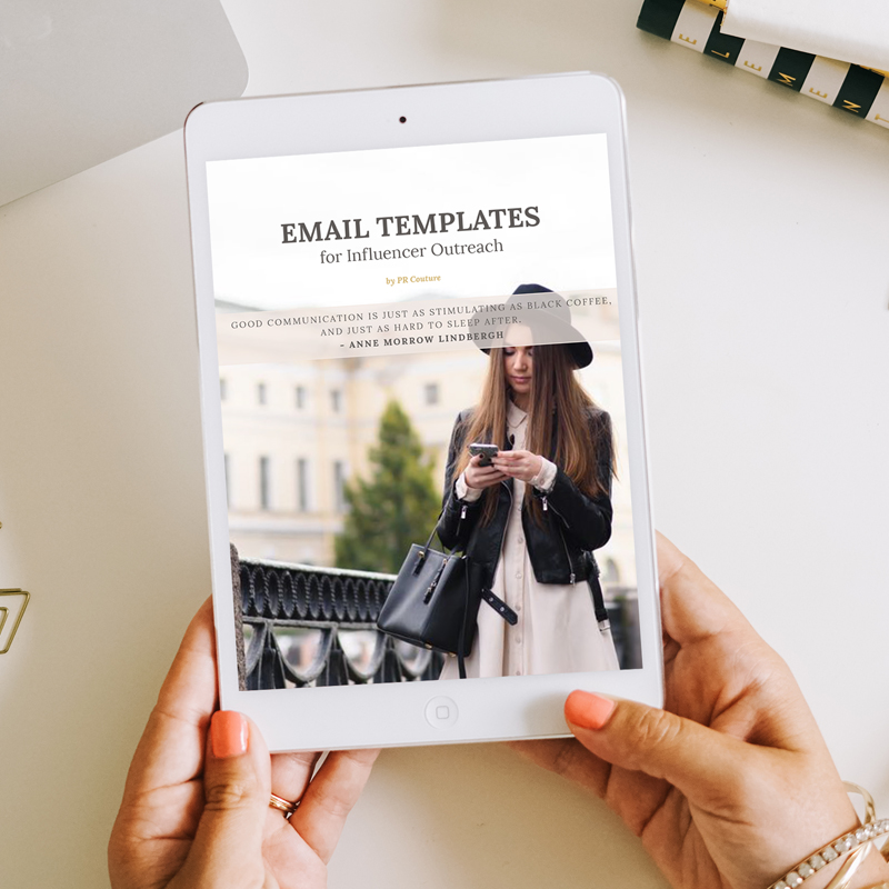 Email Pitch Scripts: 5 Influencer Outreach Templates (+ Sample Contract)
