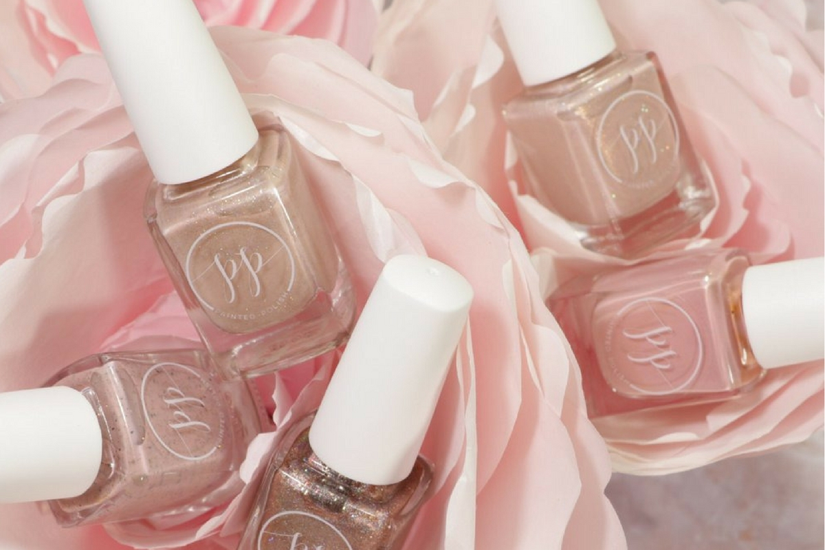 Oh so PolishedHelp your grad stay on budget by making it easy for her to keep her mani fresh at home. Painted Polish contains ZERO of the gross chemicals found in other polish and this collection of blush shades is PR Girl perfect.    I Love Blush Polish Set, $49-$59, available at Painted Polish