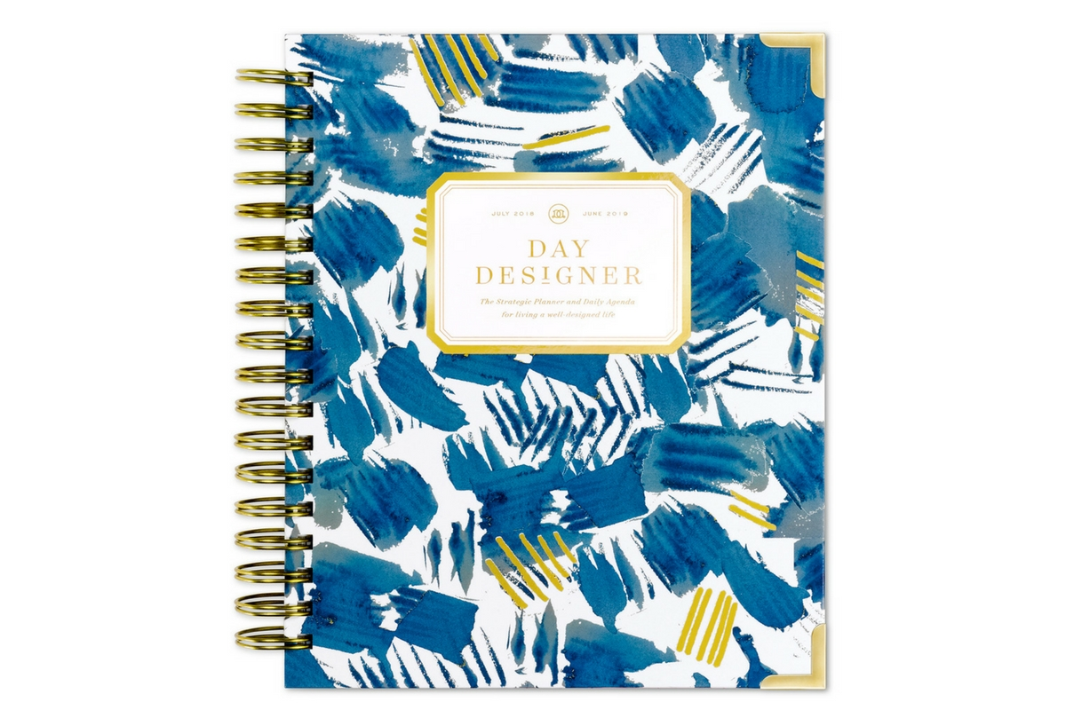 Plan Ahead Help the grad you love stay organized in their life post-college with a planner that offers function AND style. The Day Designer Academic Year Flagship Edition features daily planning pages and scheduling, top 3 to-do prompts, goal setting worksheets, and so.much.more, giving her all the tools she needs to conquer #adulting. The only catch? Picking one of the 11 gorgeous cover styles available.   Academic Year Flagship Edition, $49-$59, available at Day Designer