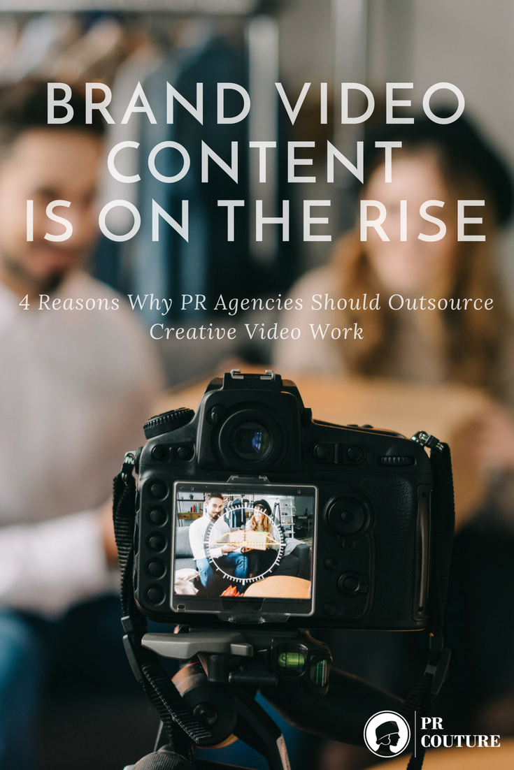 PR agencies can partner with video production houses and animation studios to create exceptional video content that will get audiences talking