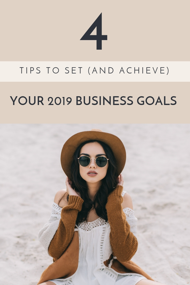 Here are 4 easy tips for setting personalized goals you can crush in 2019