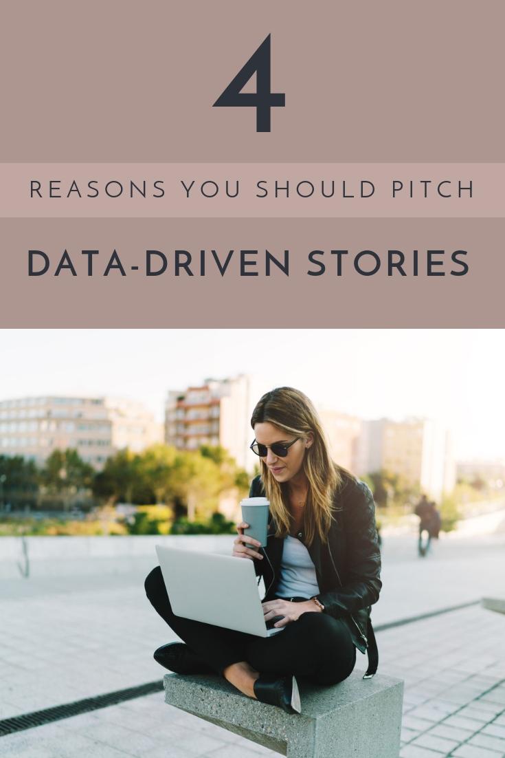 Here are 4 reasons to use real data to add real value to your stories when pitching for lifestyle clients