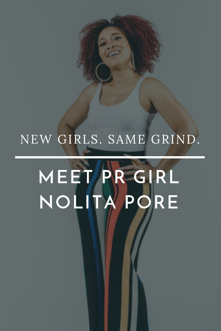 Nolita Pore talks diversity and drive and gives us a sneak peek into the new season of PR Girl