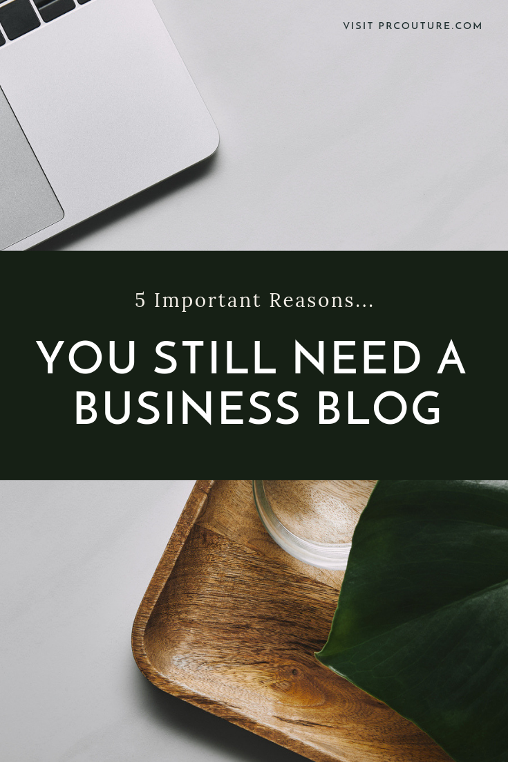 A blog allows you to drive more potential customers to your site while boosting your rankings in search—which is why it can't be ignored. #blogging #businesstips #businessblog #howtoblog #blogging101 #contenmarketing #whyblog