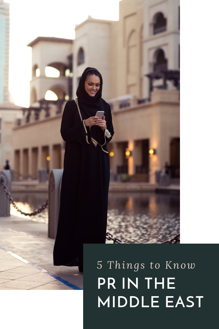 Years of experience w/ luxury European brands couldn\'t have prepared Francesca for the intricacies of PR in the Middle East. Here, she shares 5 tips. #pr101 #pitchtips #publicrelations #themiddleeast #fashionpr #luxurypr #luxuryfashion #internationalpr #branding #internationalbrands