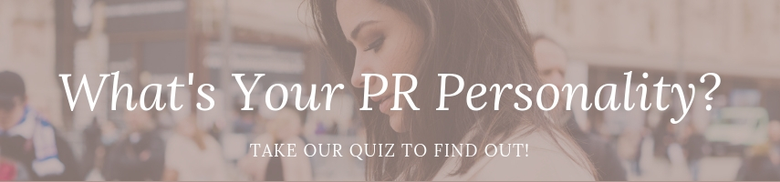 What's Your PR Personality