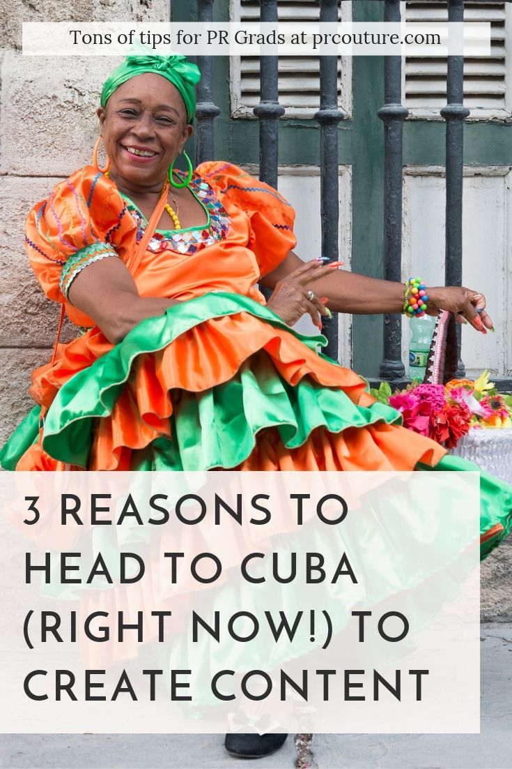 3 Reasons to head to Cuba to create content