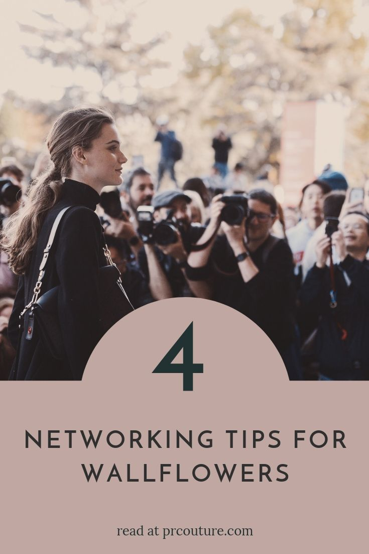 Are you a shy media maven, princess of the pitch, or a branding bad ass? Here are 4 tips to make ALL the connections at your next event.