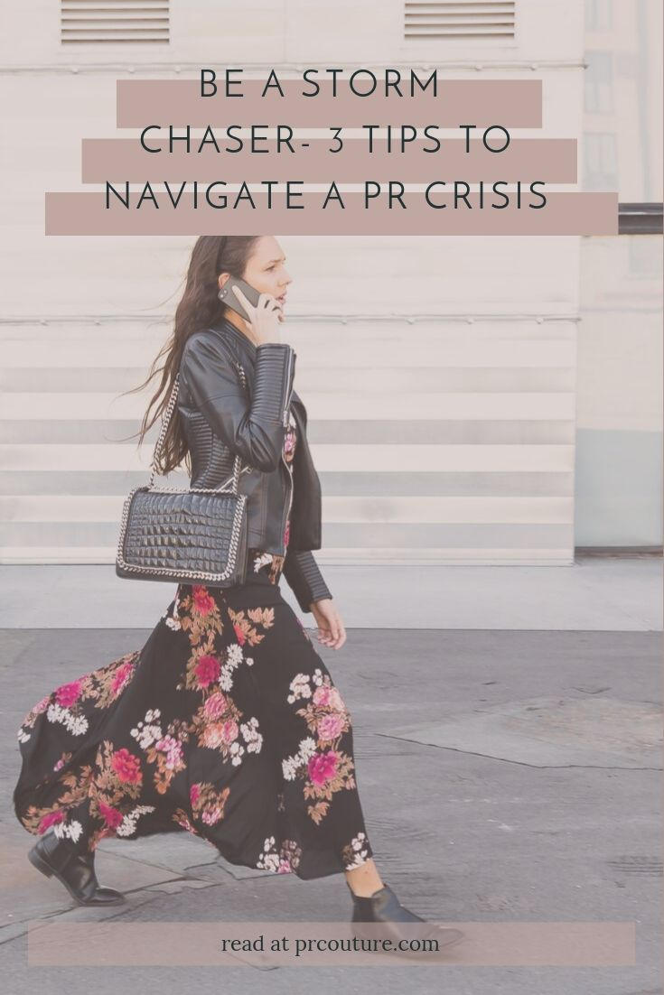 Stuck in a bind? Read for our top 3 tips for making it out of a PR crisis unscathed!
