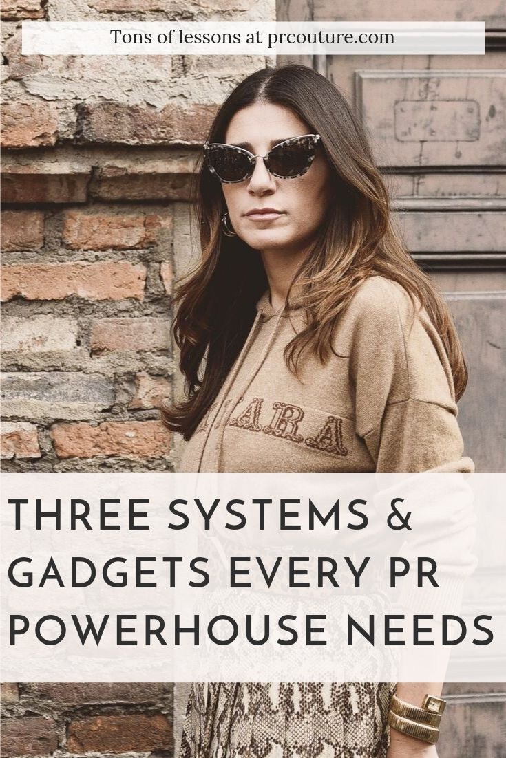 Here are three tools and systems to put into place to thrive as a solo publicist.