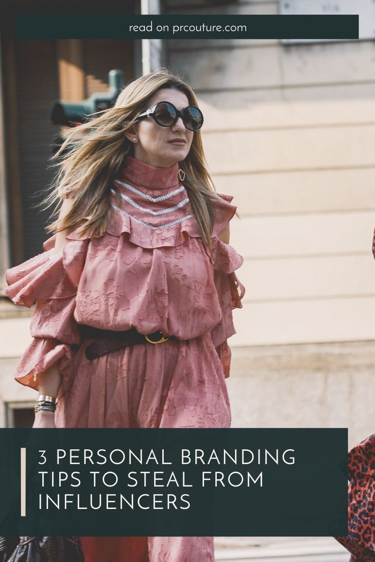 Here are three personal branding tips to impress clients + potential employers, stolen straight from your favorite it girls.