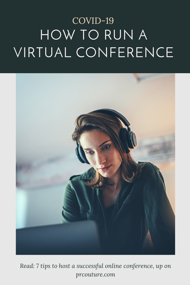 7tips to host a successful online conference during COVID-19